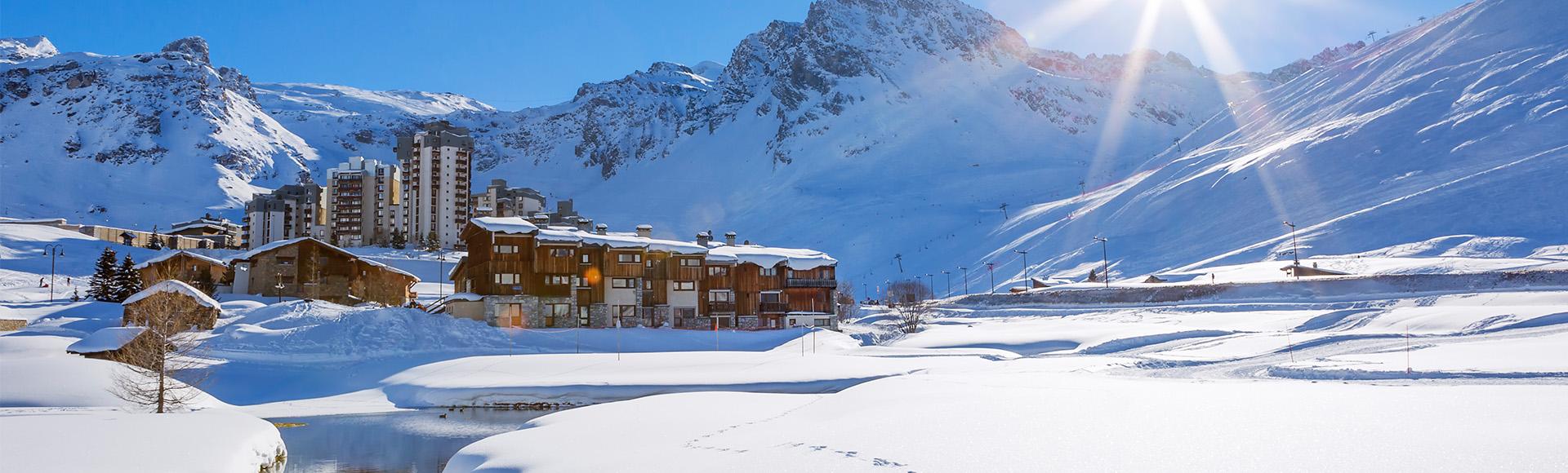 Tignes Frankrike Skidresor Till Alperna Langley