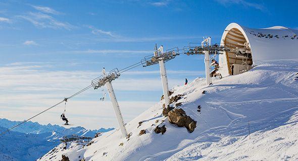 Skidresor Till Frankrike Franska Alperna Langley