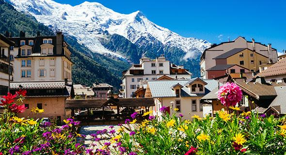 Solresor Till Franska Alperna Langley